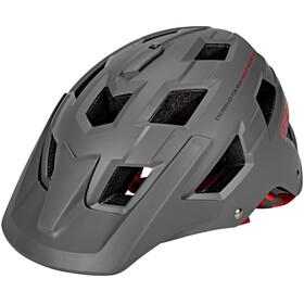 BBB Nanga BHE-54 Helm matt grau/rot